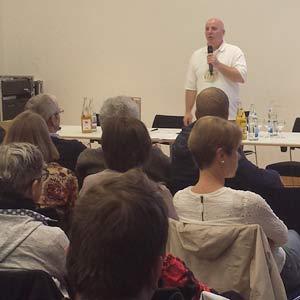 Vortrag Imker Thomas Hans